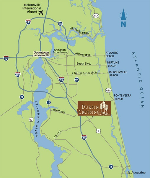 durbin-crossings-map